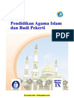 Buku Pegangan Siswa Agama Islam SMP Kelas 9 Kurikulum 2013