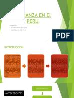 La Fianza en El Peru