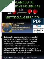 Metodoalgebraico PIERROT 2º Medio