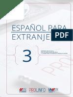 Espanhol Livro III
