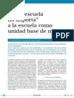 """De """"La Escuela"""