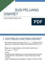 m4. Distribusi Peluang Diskret
