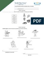 Evaluación Escrita Medio Social y Natural