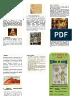 Señor de Sipan Triptico PDF