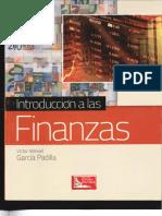 Introduccion a Las Finanzas I