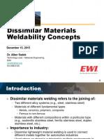 Dissimilar Metal Weldability Concepts Alber Sadek (1)