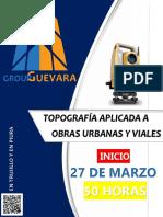 Topografia - Viales y Urbanas Trujillo