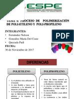 Polietileno y Polipropileno