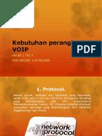 Kebutuhan perangkat VOIP