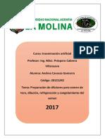 Preparacion de dilutores y congelamiento del semen.docx