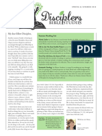 Disciplers Bible Studies Spring 2018 Newsletter