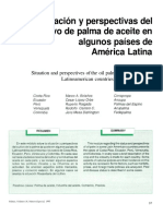 Situación y Perspectivas Del Cultivo de Palma de Aceite en Algunos Países de América Latina 1995