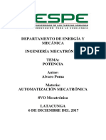 Potencia Electrica Neumatica Hidraulica-Alvaro Poma