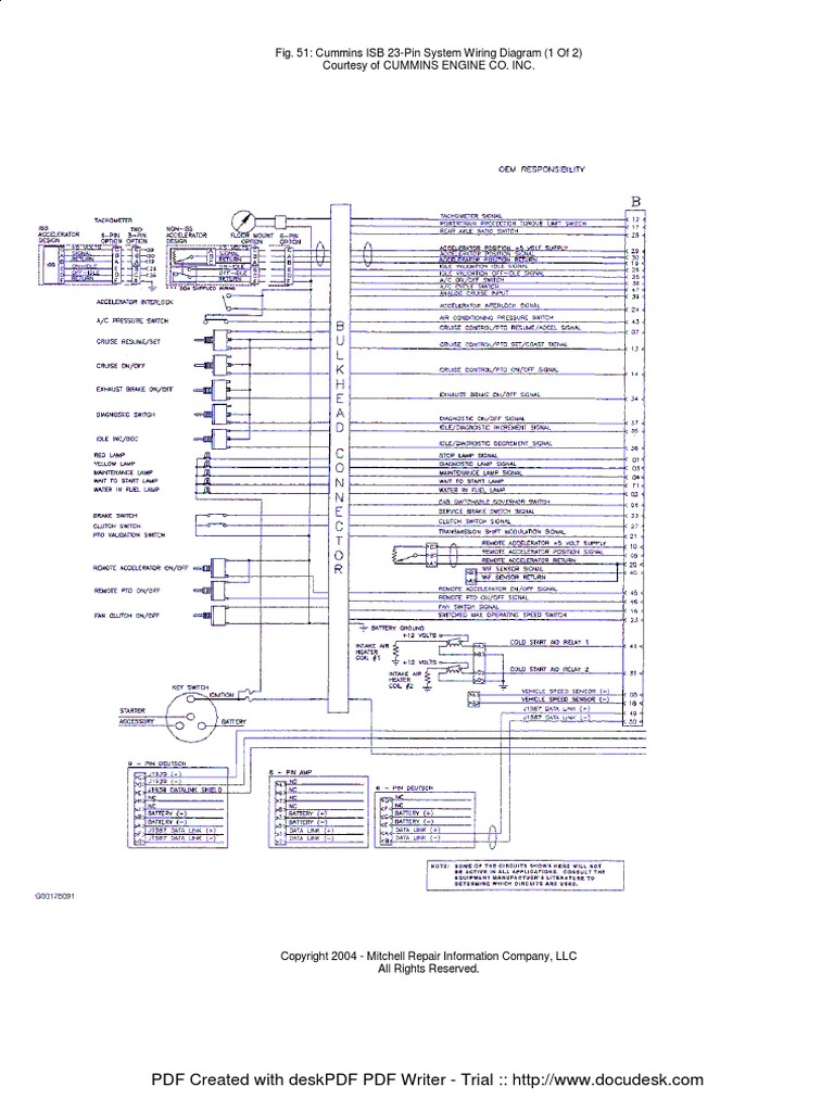 AD8 Isb 23 Pin Wiring Diagram | Wiring LibraryWiring Library