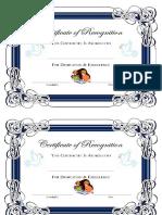 Diplomas de Ingles
