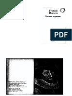 Bacon Novum Organum PDF