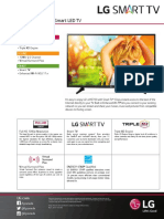 43lh5700 Smart Led Tv Spec Sheet Eng