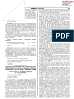 regulacion peruana