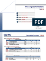 Planning Des Formations T4- 2010
