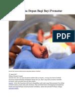 Risiko Di Masa Depan Bagi Bayi Prematur