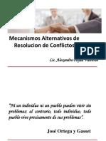 Mecanismos Alternativos de Resolución de Conflictos