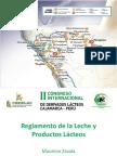 7.- Políticas Públicas - Reglamento de La Leche y Productos Lácteos - Ing. José Mauricio Zavala