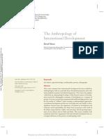Mosse, David - The Anthropology of International Development