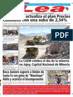 Periódico Lea Lunes 07 de Mayo Del 2018
