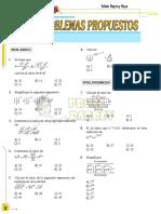 Leyes de Exponentes - PROFE RAPREY
