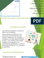 Cuentas de Usuario y Protección Infantil
