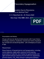 Secondary Hypogonadism Case