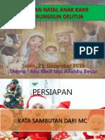 Liturgi Natal Anak 2015