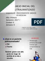 Manejo Inicial Del Paciente Politraumatizado 2017