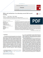 Effects and Mechanisms of an Alternating Current Field on Pack Bo 2018 Vacuu