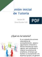 REUNIÓN INICIAL TUTORÍA 2015.pptx