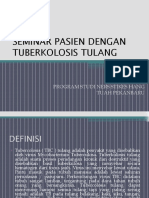 Seminar Pasien Dengan Tuberkolosis Tulang