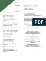 Canciones Dia Del Profesor 16 Oct 2017