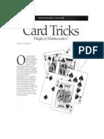 Card Tricks Magic or Math
