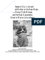 Prophecies of Marie-Julie Jahenny