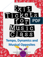 Exit Tickets Graphic Org