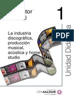 La Industria Discografica, Productor Musical, Equipo, y Home Studio.pdf