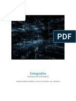 Integración por partes