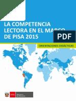 Competencia Lectora PISA 2015 KAREN