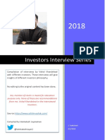Vishal Khandelwal Investor Interview Series