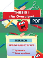 Research (an Overview)
