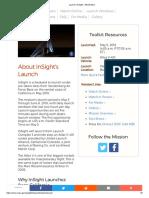 Launch _ InSight - NASA Mars