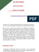 Clase DisposicionPlanta