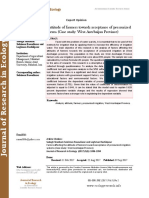 Factors affecting the attitude of farmers towards acceptance of pressurized irrigation systems (Case study