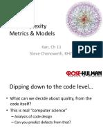 Wk6-1 Complexity Metrics