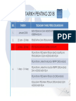 Takwim PBPPP 2018